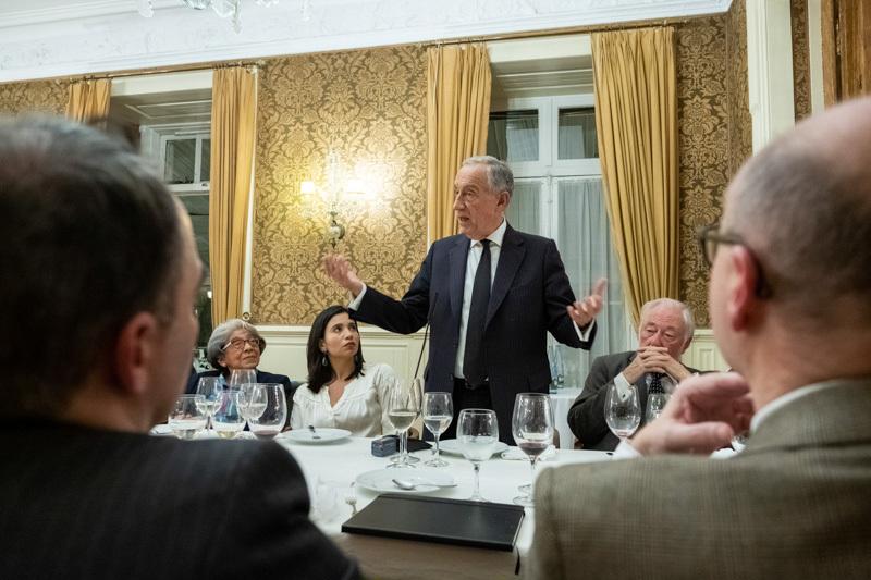 AIEP encerra 2018 em jantar com o Presidente da República