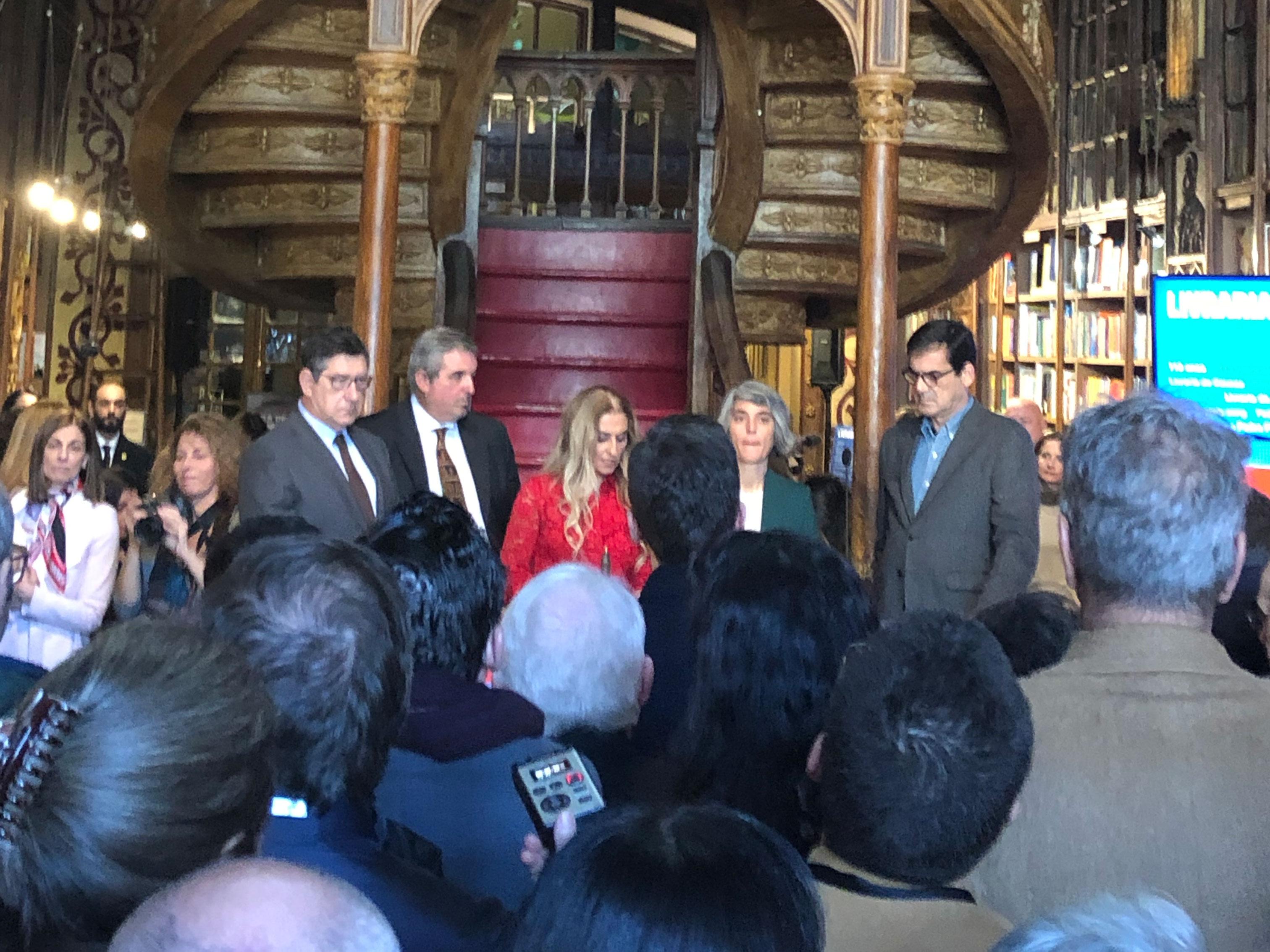 Correspondentes acompanham os 113 anos da livraria Lello