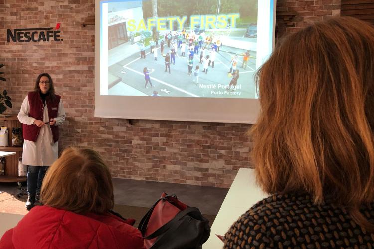 Imprensa estrangeira visita fábricas da Nestlé em Portugal