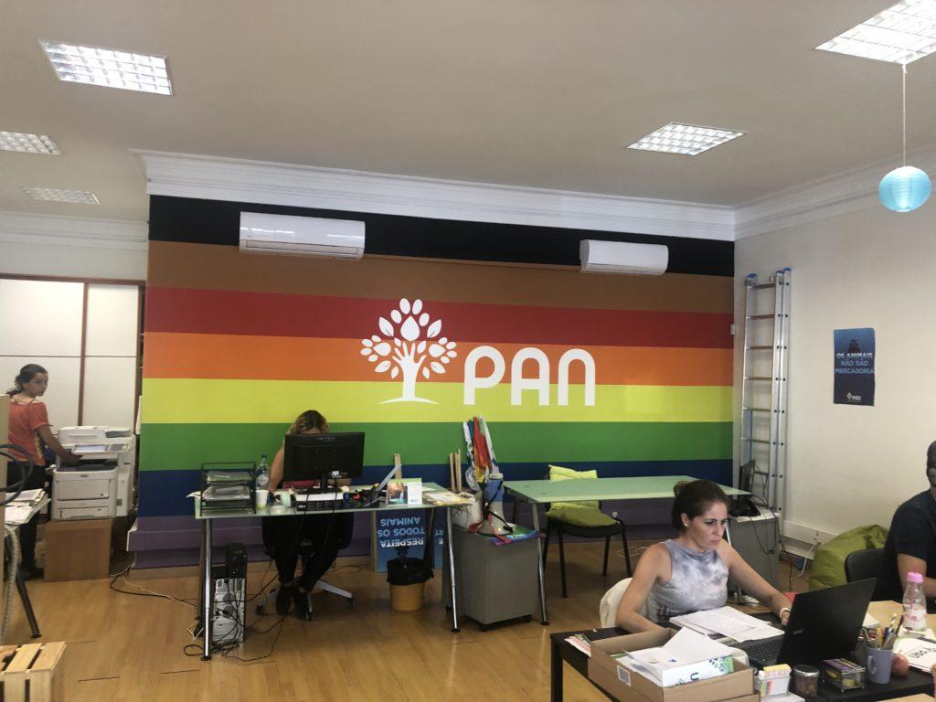 Sede do PAN em Lisboa
