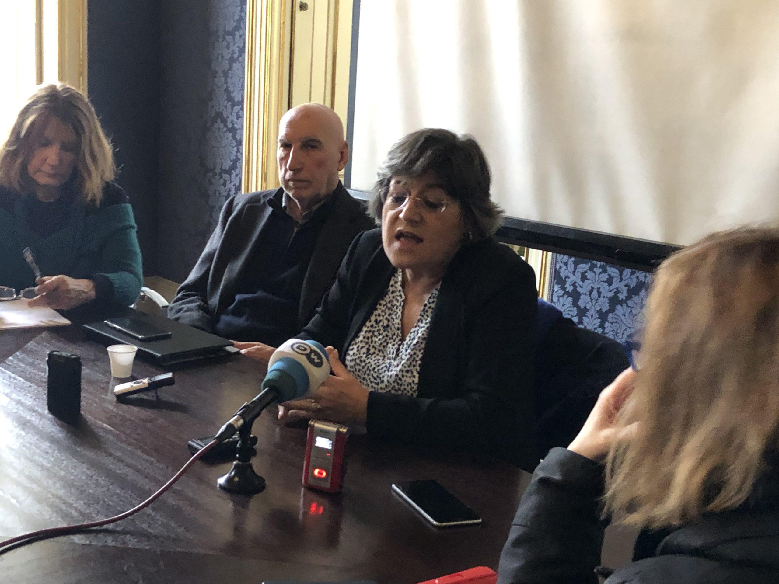 Jornalistas internacionais entrevistam Ana Gomes