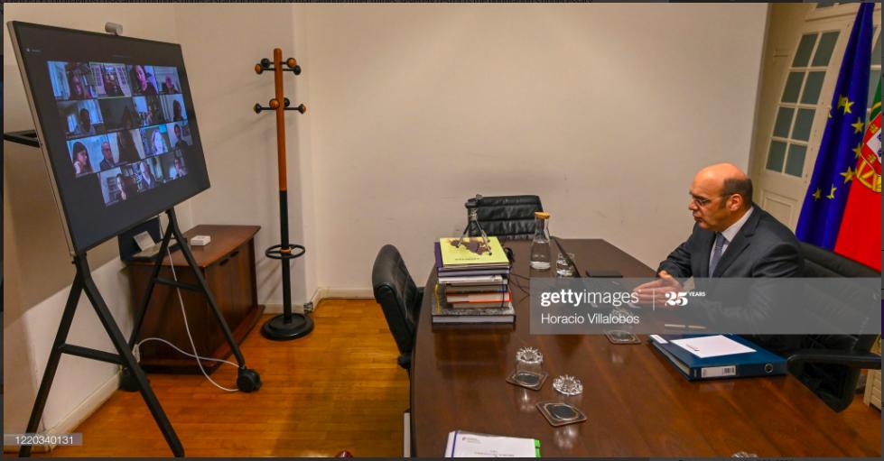 Ministro da Economia concede entrevista virtual à AIEP